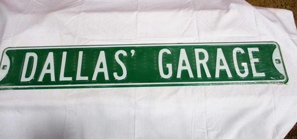 Dallas' Garage