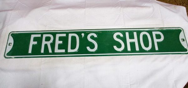 Fred's Shop