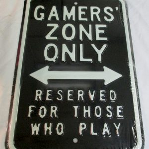 Gamers' Zone Only - Reserved For Those Who Play