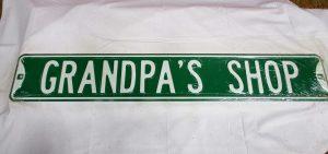 Grandpa's Shop
