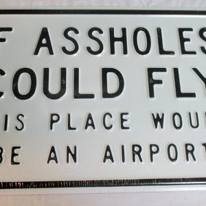 If Assholes Could Fly - This Place Would Be An Airport
