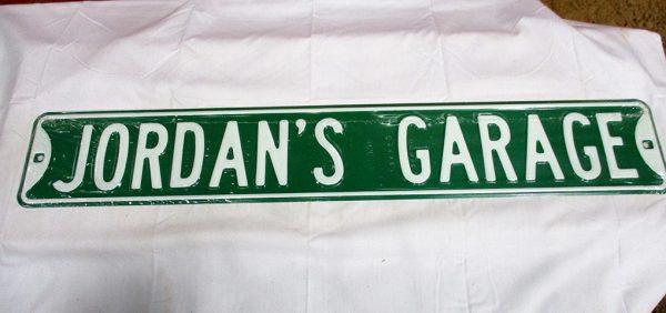 Jordan's Garage