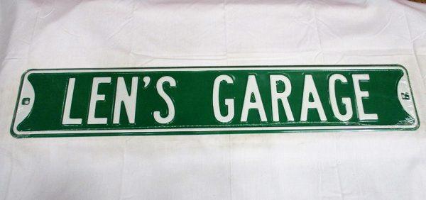 Len's Garage