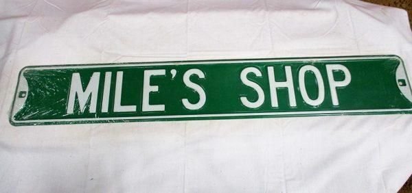 Mile's Shop