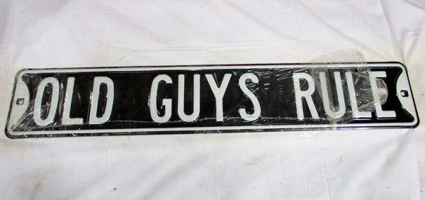 Old Guy's Rule