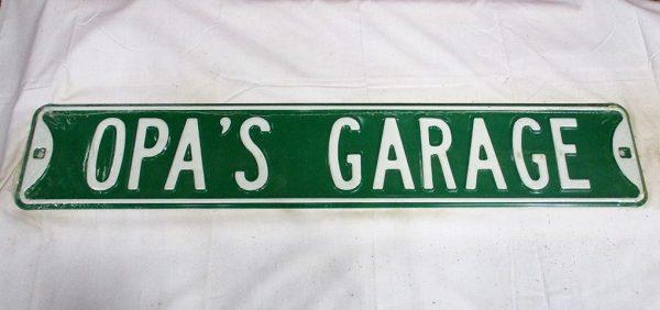 Opa's Garage