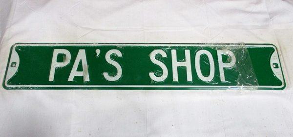 Pa's Shop