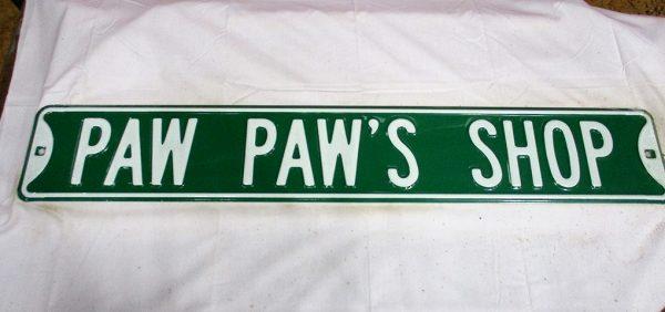 Paw Paw's Shop