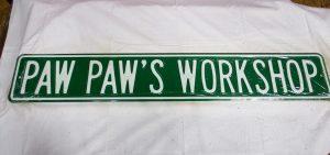 Paw Paw's Workshop