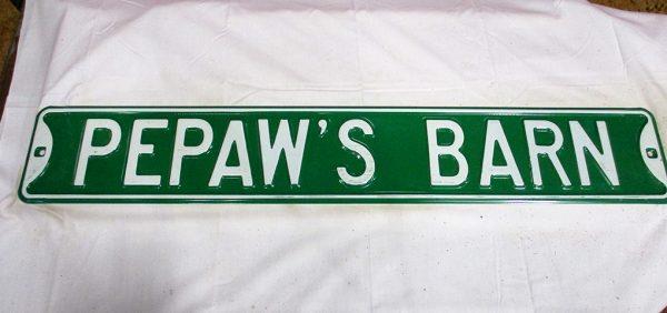 Pepaw's Barn