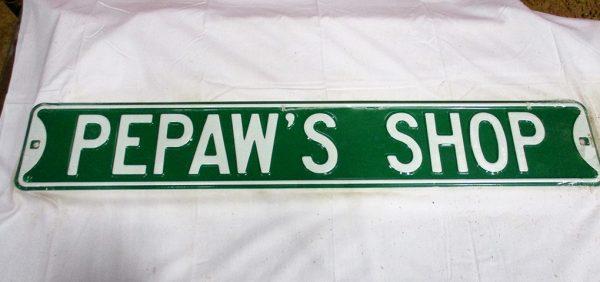 Pepaw's Shop