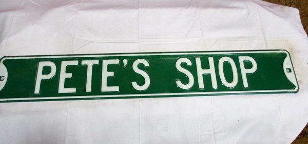 Pete's Shop