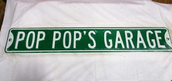 Pop Pop's Garage