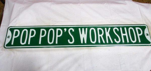 Pop Pop's Workshop