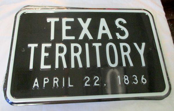 Texas Territory - April 22, 1836