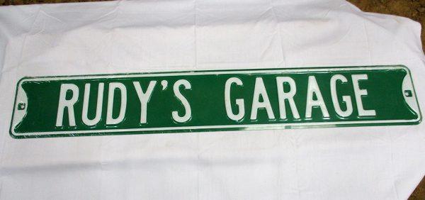 rudy's garage